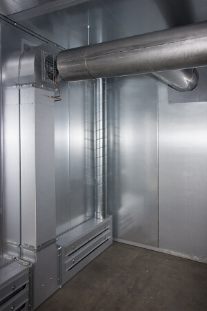 Industrial Oven Ductwork